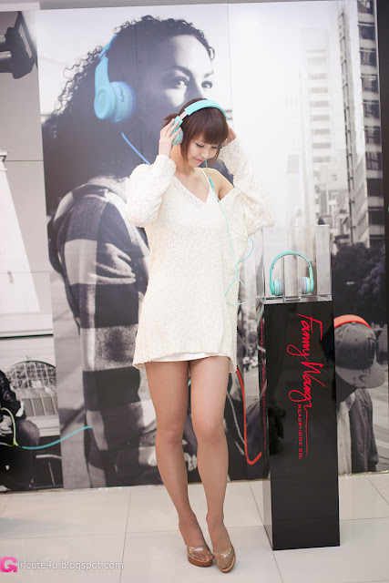 4 Kang Yui for Fanny Wang Headphone-very cute asian girl-girlcute4u.blogspot.com