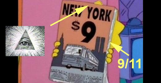 Los Simpson atentado 9/11 New York torres gemelas WTC