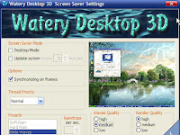 Watery Desktop 3D + Serial