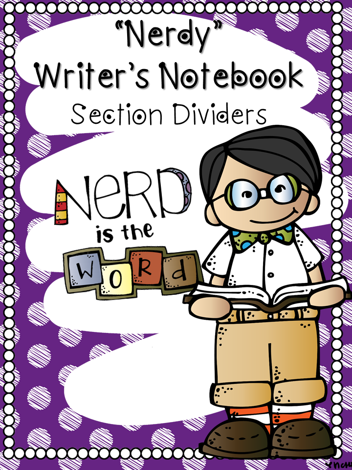 http://www.teacherspayteachers.com/Product/Writers-Notebook-Section-Dividers-1395466