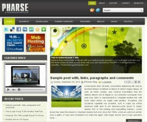 Pharse Blogger Template