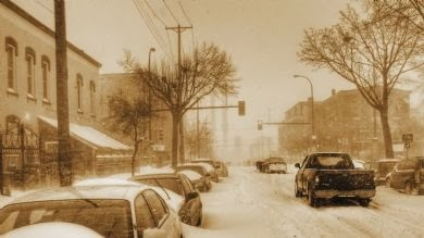 Winter scene (Twin Cities)