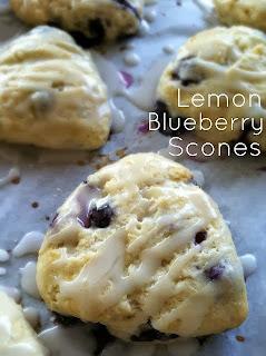 Baby Boy Bakery's Lemon Blueberry Scones