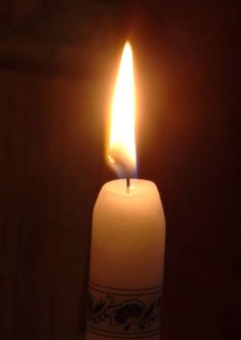 Een kaarsje voor iedereen die wat steun en licht kan gebruiken.