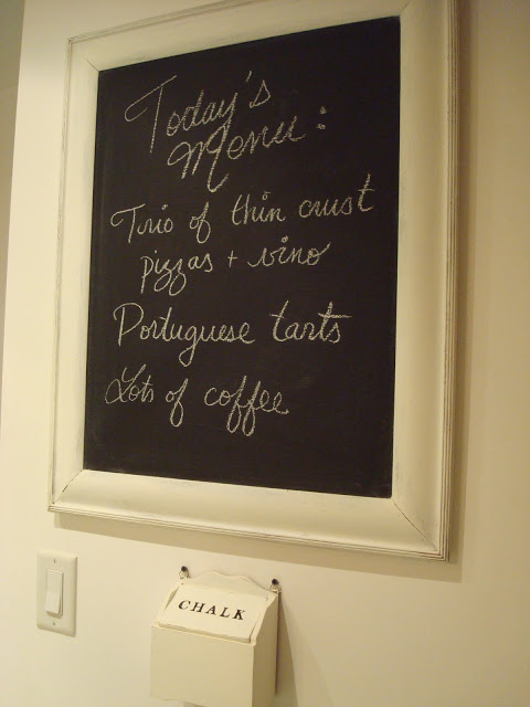 coastal shore creations diy magnetic kitchen chalkboard