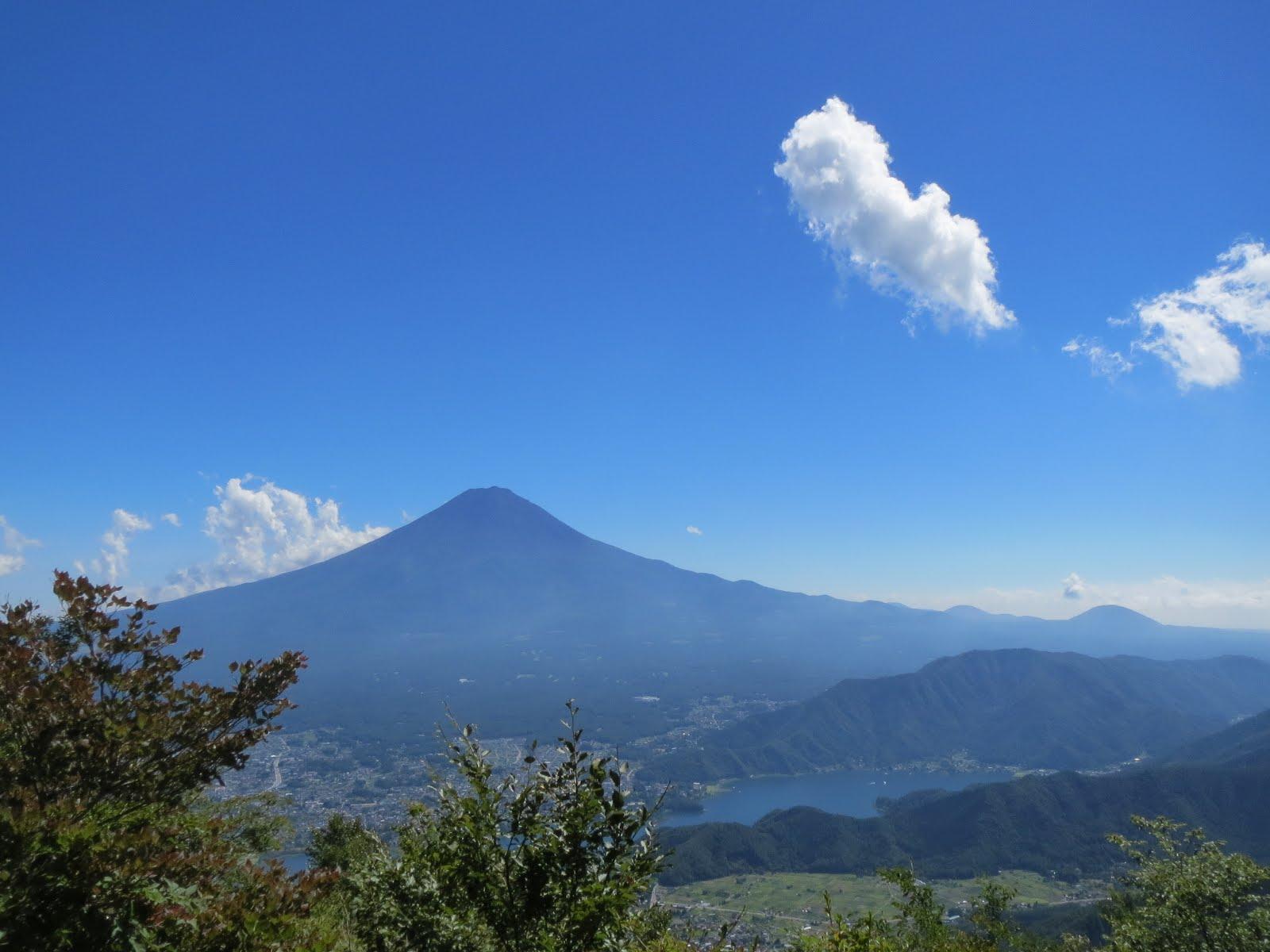 2018/08/26 黒岳 富士五湖周辺