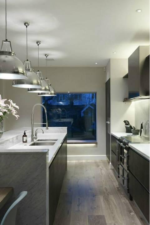 Home Decor Small And Narrow Kitchens Design Ideas