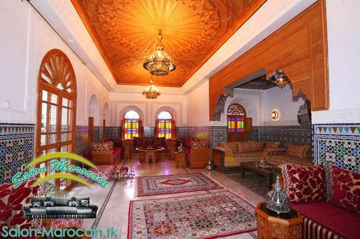 Salon marocain riads marrakech fabuleux