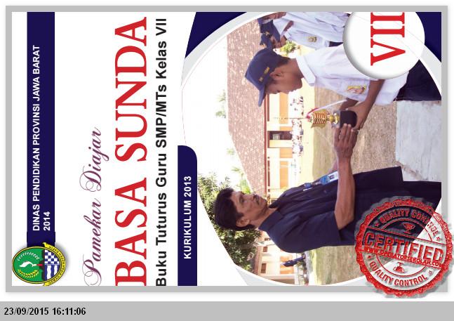 UNDUH BUKU PETUNJUK SMP KELAS VII GURU BAHASA SUNDA Semester 1 dan 2