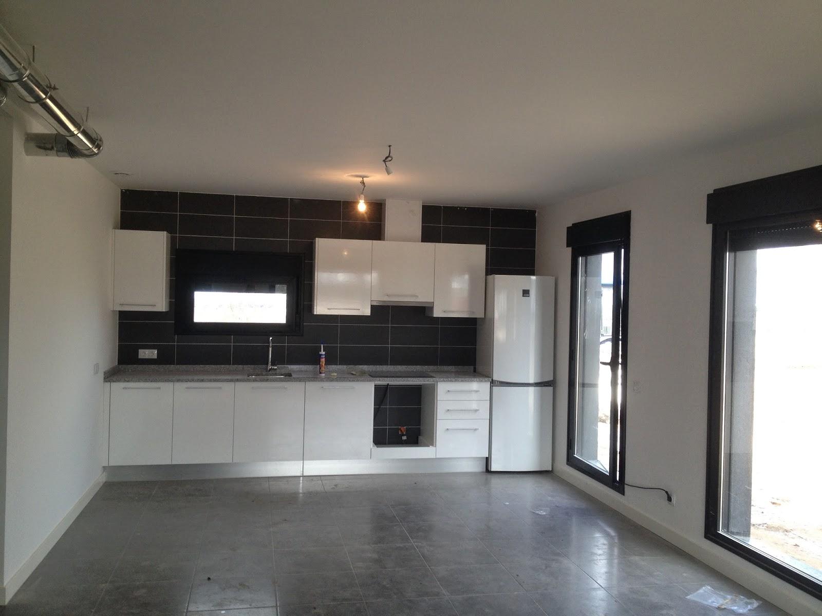 Cocina montada en vivienda de Resan Modular