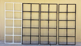Vintage Windows ($35 each; 1 white, 3 black)