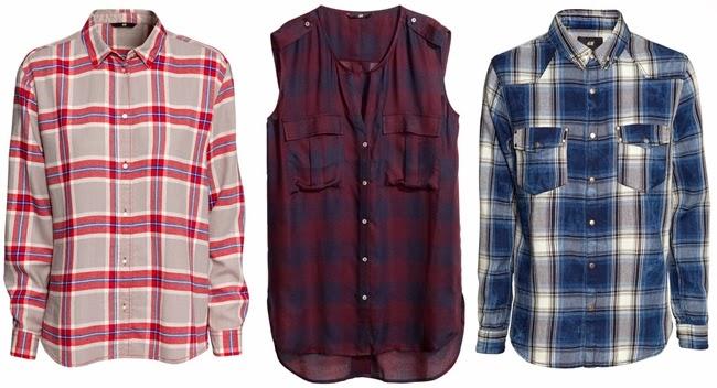 tartan blouse online