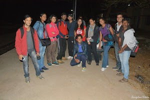 Group photo at Makalidurga railway station