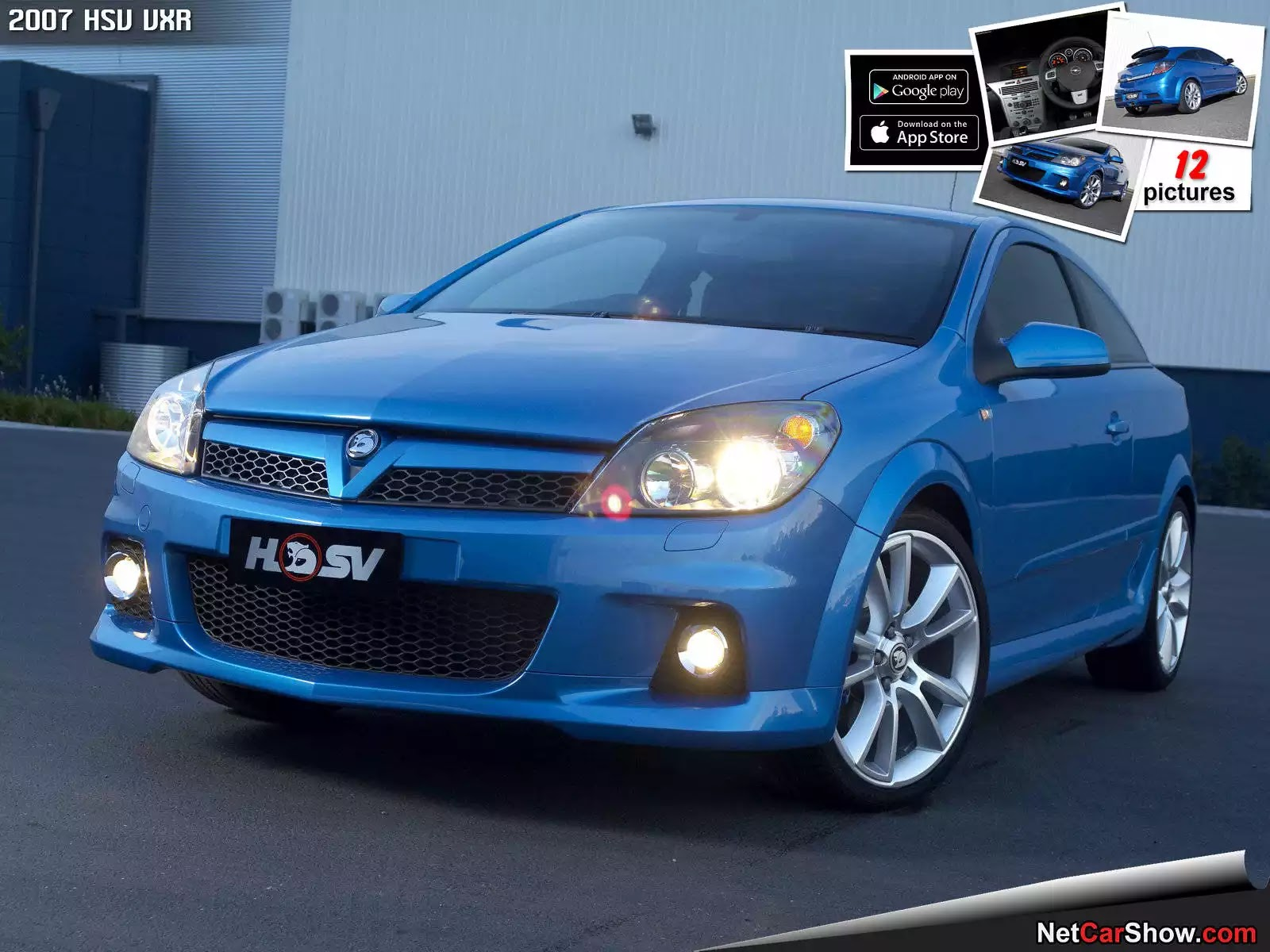 Hình ảnh xe ô tô HSV VXR 2007 & nội ngoại thất