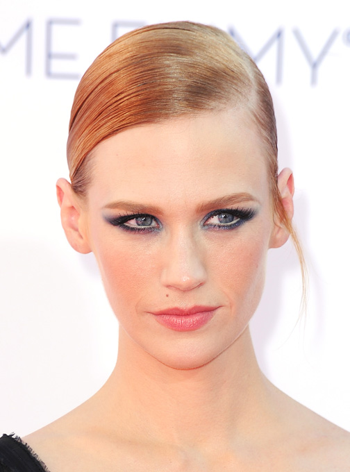 january jones makeup, vma makeup, maquilhagem