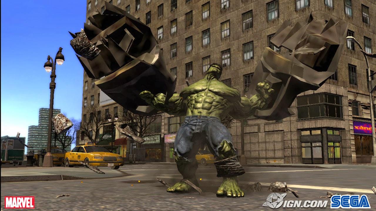Incredible Hulk Video Game
