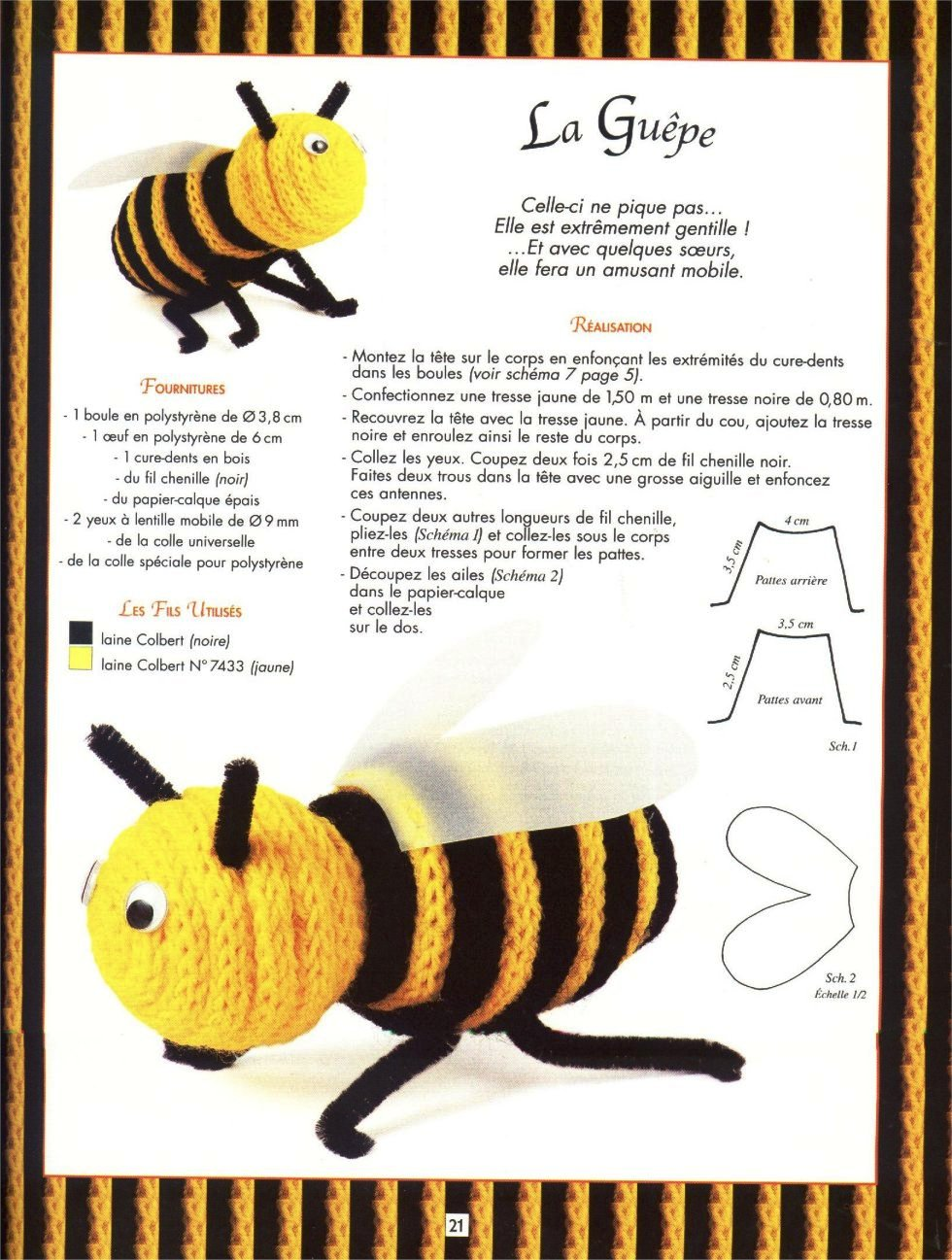 vespa em crochet