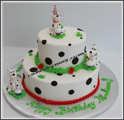Dalmatian Dog Cakes