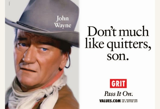 Values.com John Wayne grit