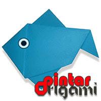 Cara Membuat Origami Ikan 4