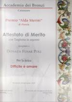 Premio 'Alda Merini'