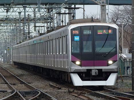 東京メトロ半蔵門線 東武伊勢崎線 準急 久喜行き2 08系