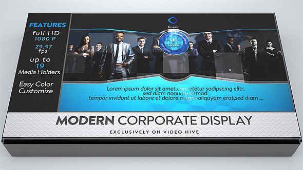 VideoHive Modern Corporate Display