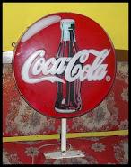 neon box coca cola