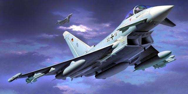 Negara-negara Eropa ngotot tawarkan Jet Tempur Eurofighter unutk TNI AU