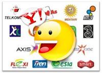 cara transaksi Yahoo Messenger Chip sakti