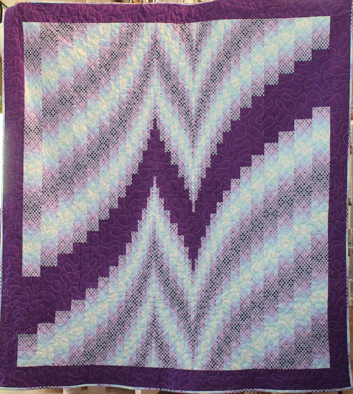Quilt Patterns With Two Fabrics : Prairie Chicks: New Quilts!!