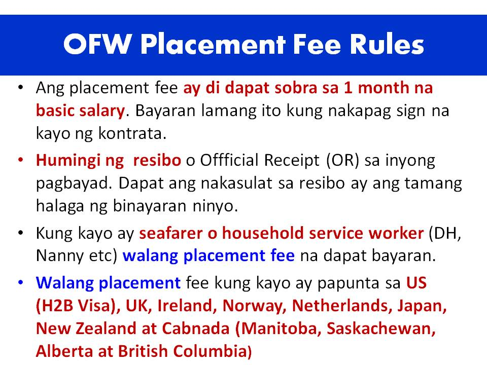 expenses of ofws Overseas filipino workers' (ofws) remittances: compilation practices and future challenges expenses and thus current transfers.