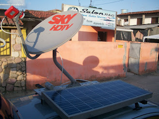 Auto Car Show da Sky com Painel Solar