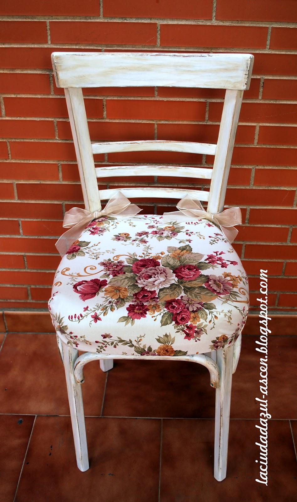 La ciudad azul sillas restauradas - Sillas restauradas ...