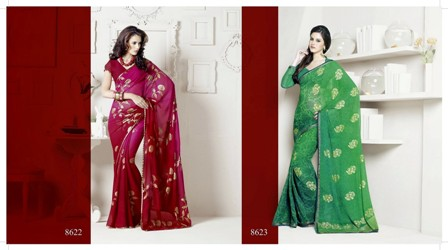 Latest-Collection-of-Printed-Draper-Sarees