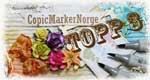 Kåret til topp 3 hos copic marker norge
