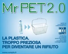 Mr Pet 2.0 riciclo bottiglie plastica