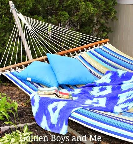 Striped Palsey Island hammock-www.goldenboysandme.com