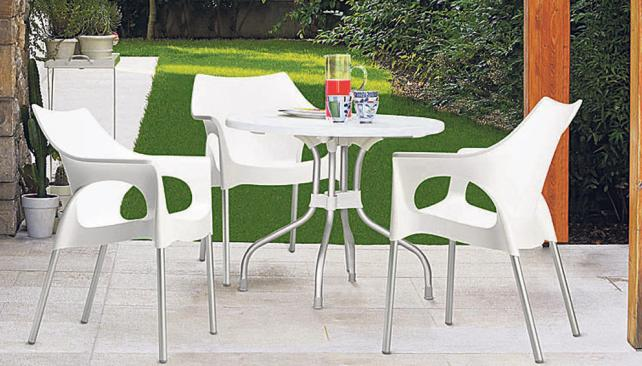 Arkydeck el mejor mueble para exterior for Sillas comedor economicas