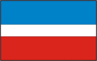 Flaga gminy Fałków