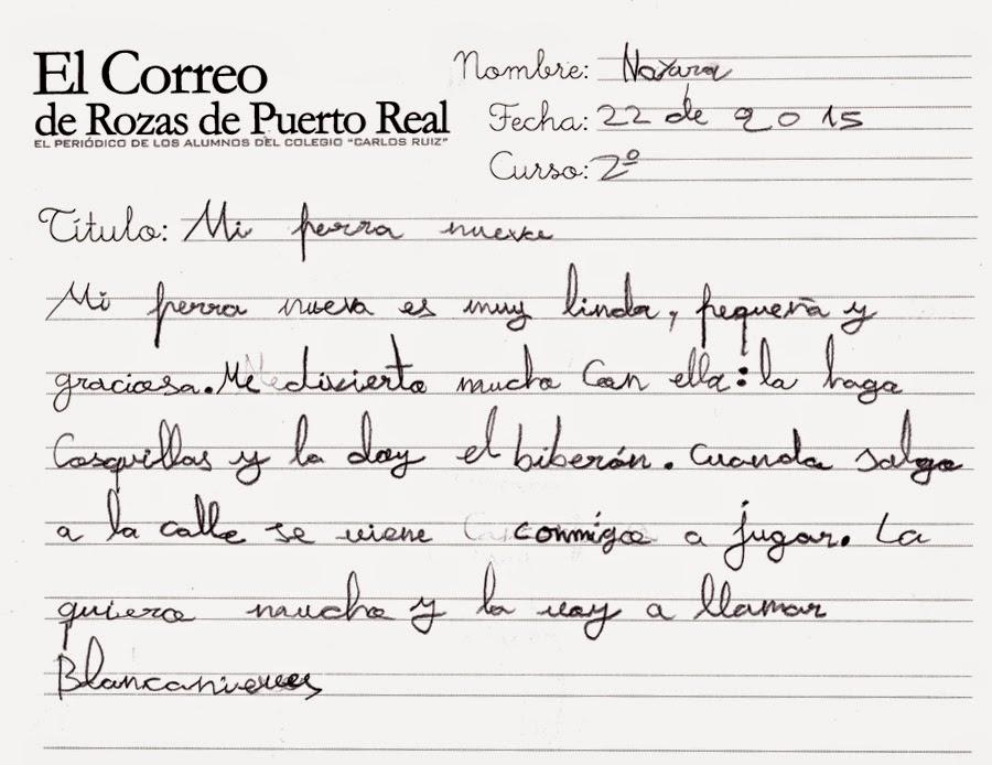 El Correo De Rozas De Puerto Real Mi Perra Nueva