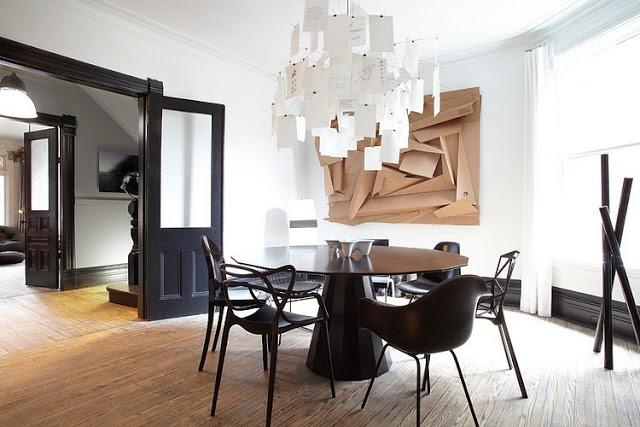Noir blanc un style for Decoration maison francaise