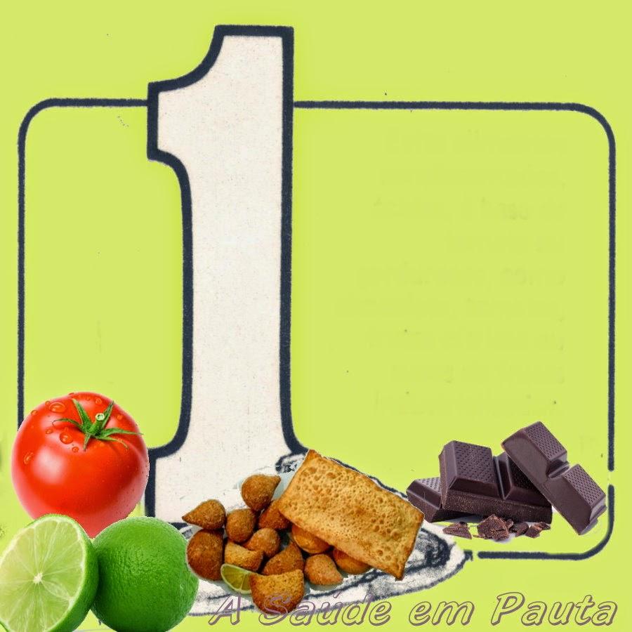 Contra a azia, evite tomate, frutas cítricas, chocolates e alimentos gordurosos