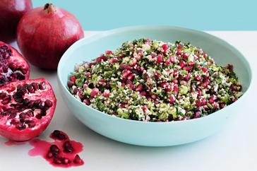 Pomegranate Tabouli Recipe