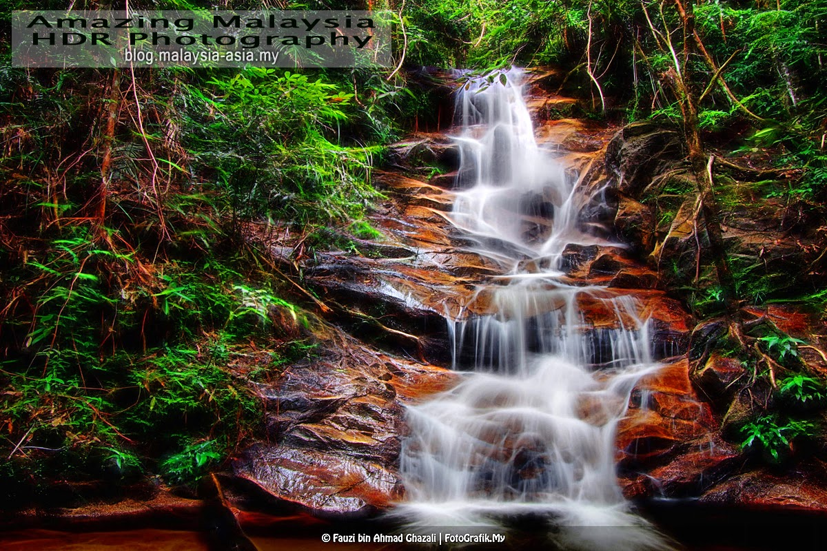 Waterfall Malaysia Johor Jeram Tinggi Waterfalls Johor