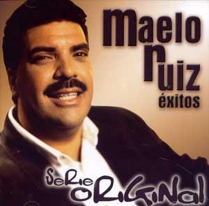 Maelo Ruiz en portada de CD