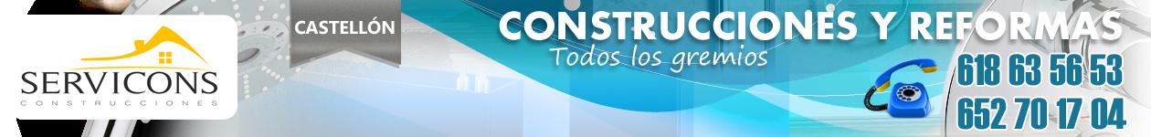 Reformas en Castellón | 618 63 56 53 | SERVICONS C.B.