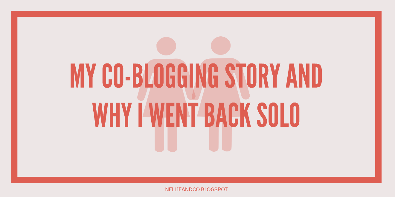 My Co-Blogging Story and Why I Went Back Solo | Blogging is subjective, as are the decisions you make. Co-blogging wasn't for the future, here's why I went back solo!