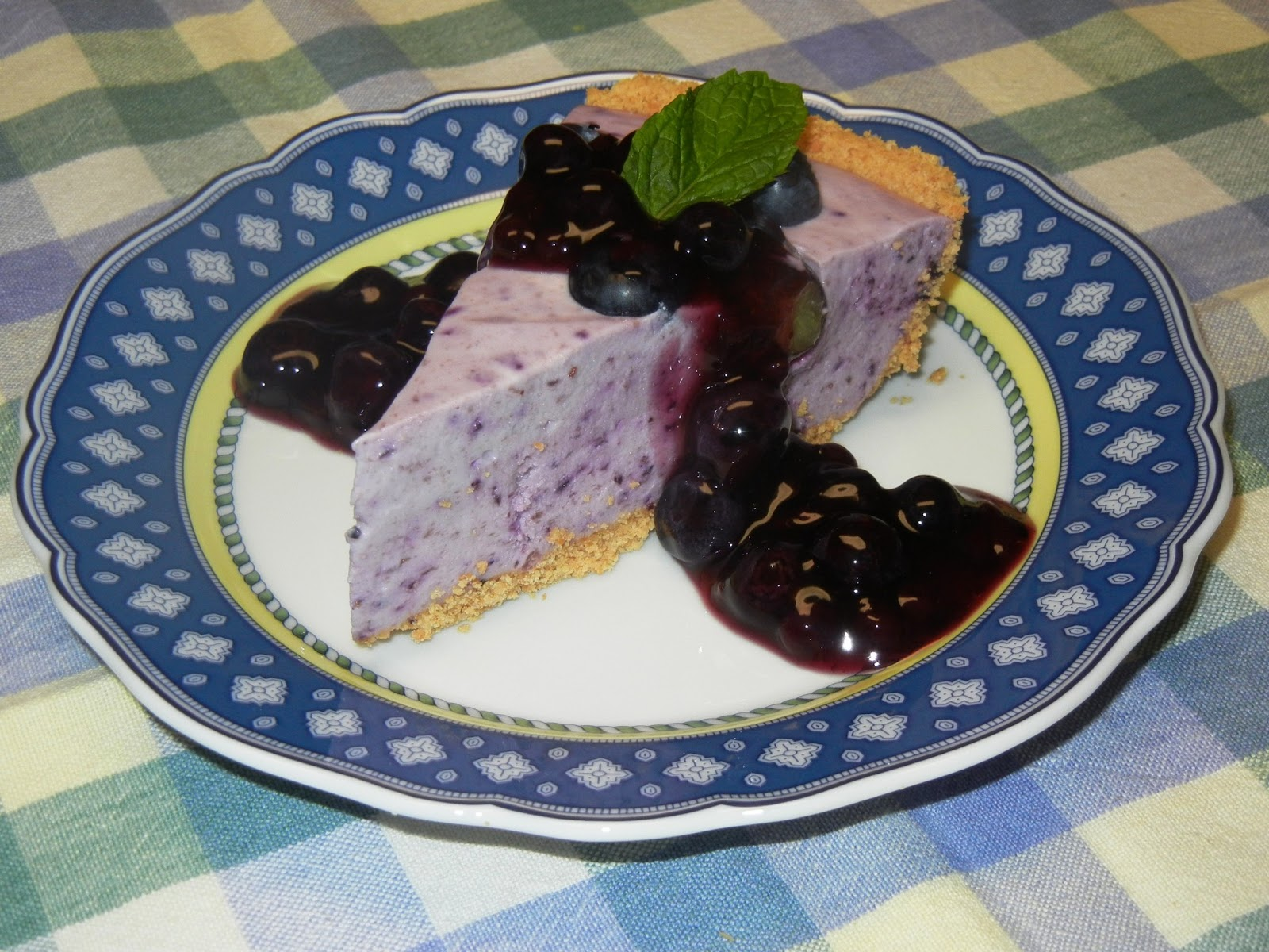 Cooking with Julian: Blueberry No-Bake Cheesecake