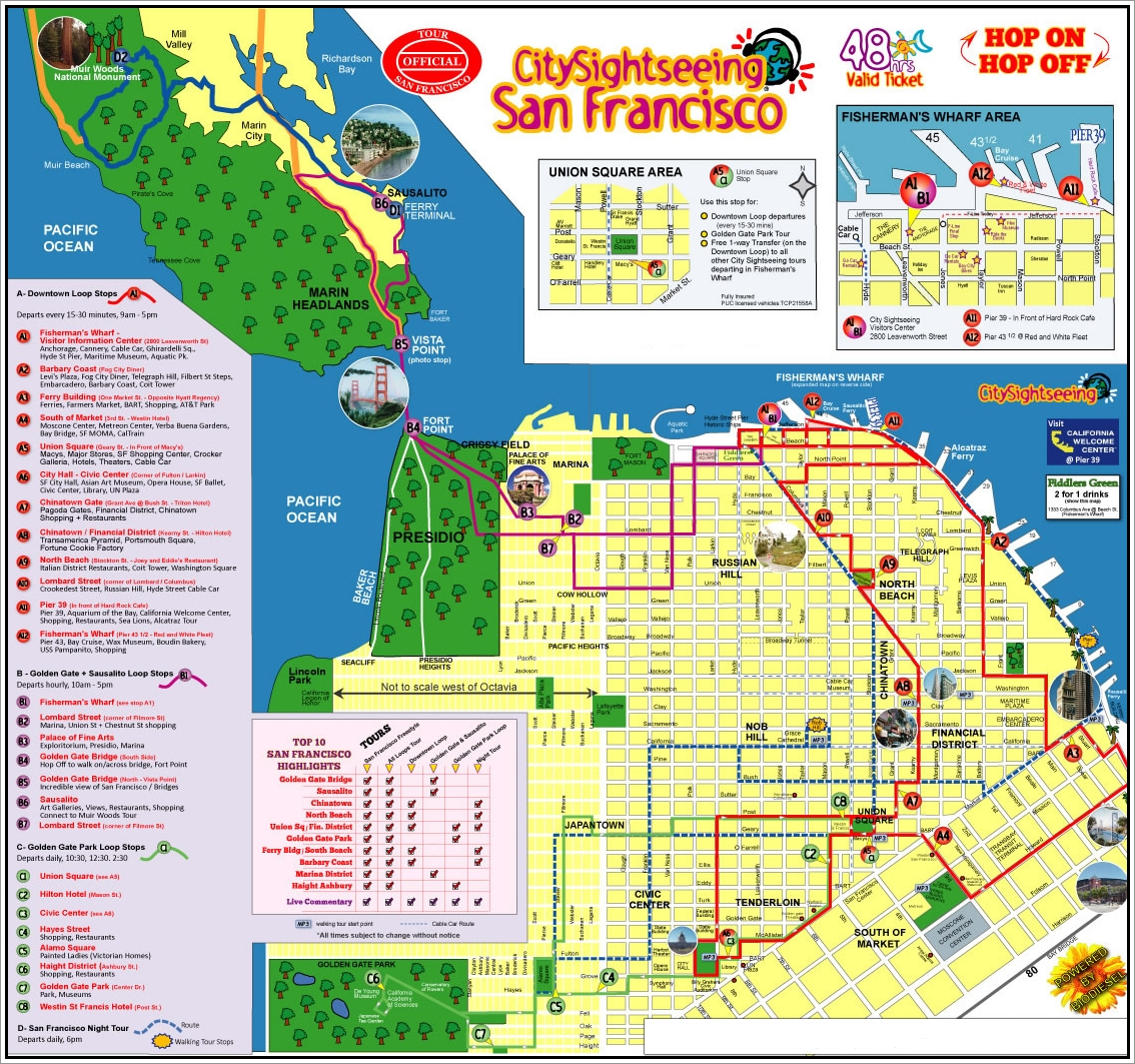 Best San Francisco City Tours